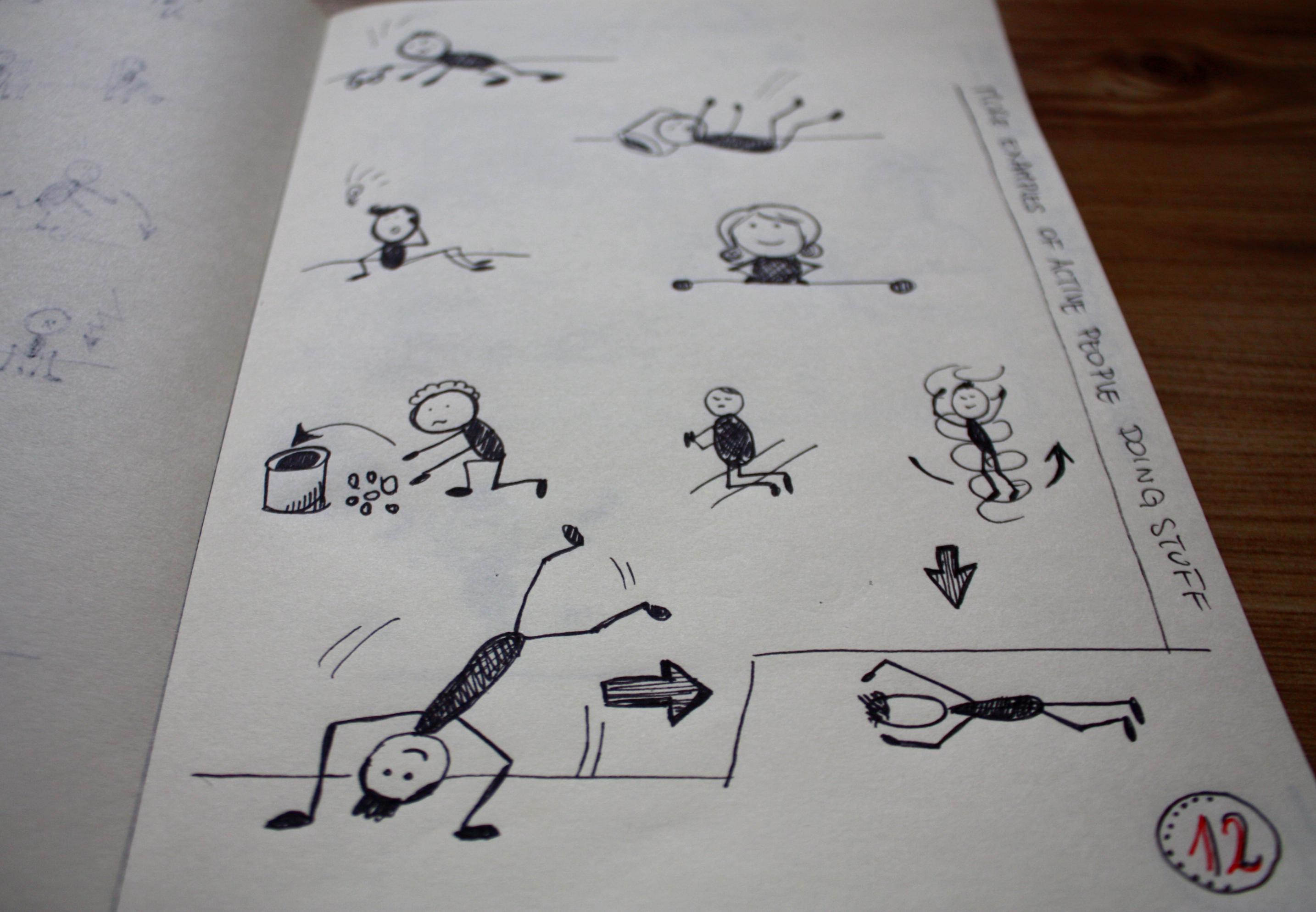 jak rysować ludzi