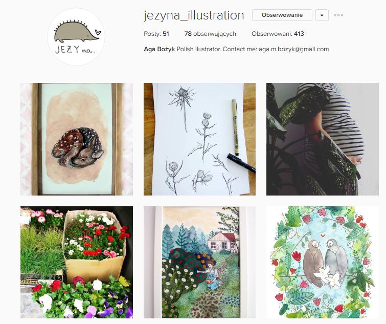 jezyna_illustration instagram