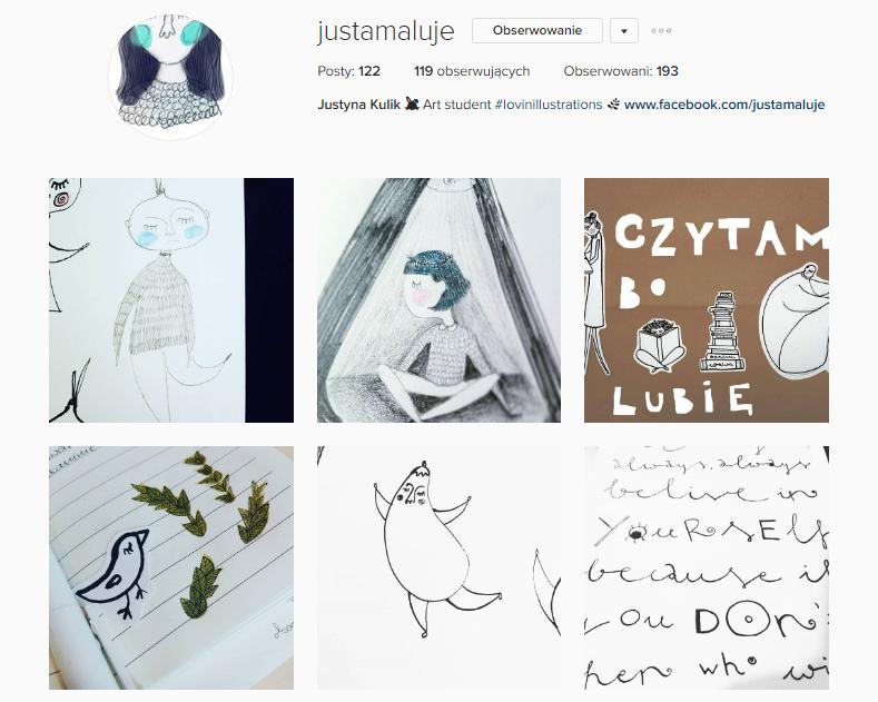 justamaluje instagram
