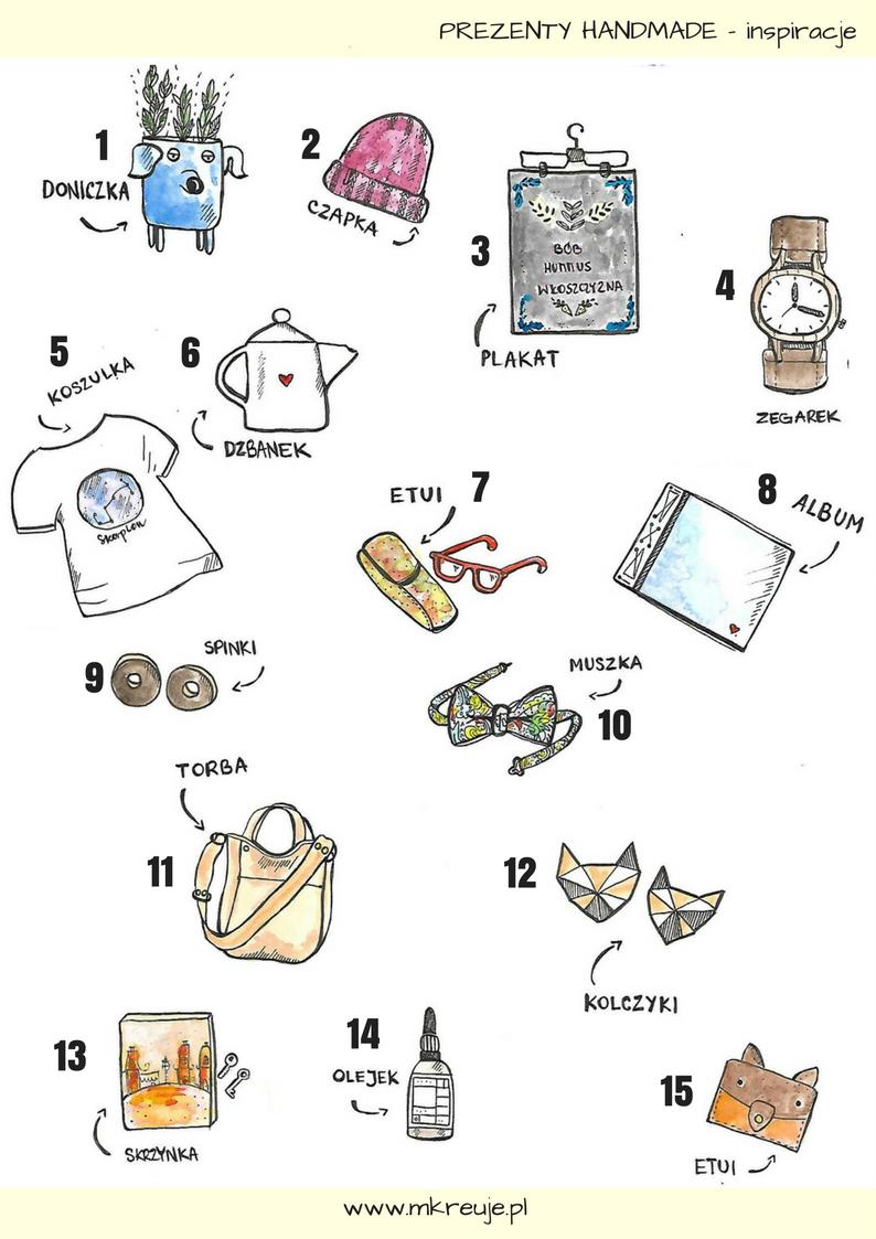 Prezenty handmade inspiracje, pomysły od polskich projektantów