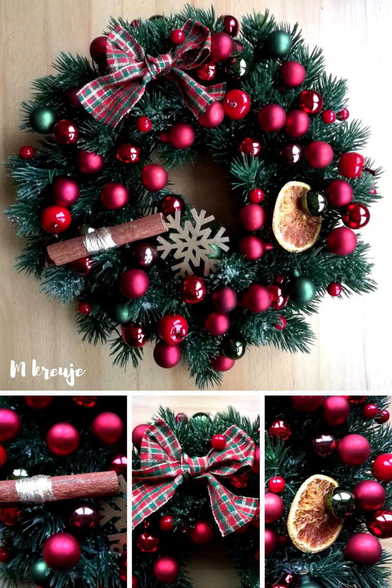 wianek świąteczny DIY inspiracja Boże Narodzenie