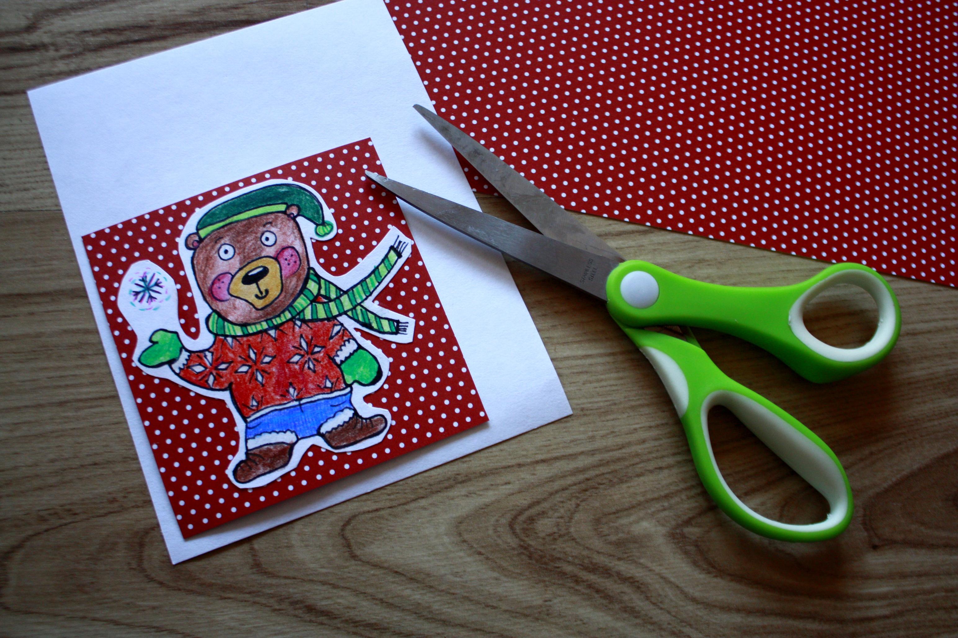 jak powstaje kartka bożonarodzeniowa
