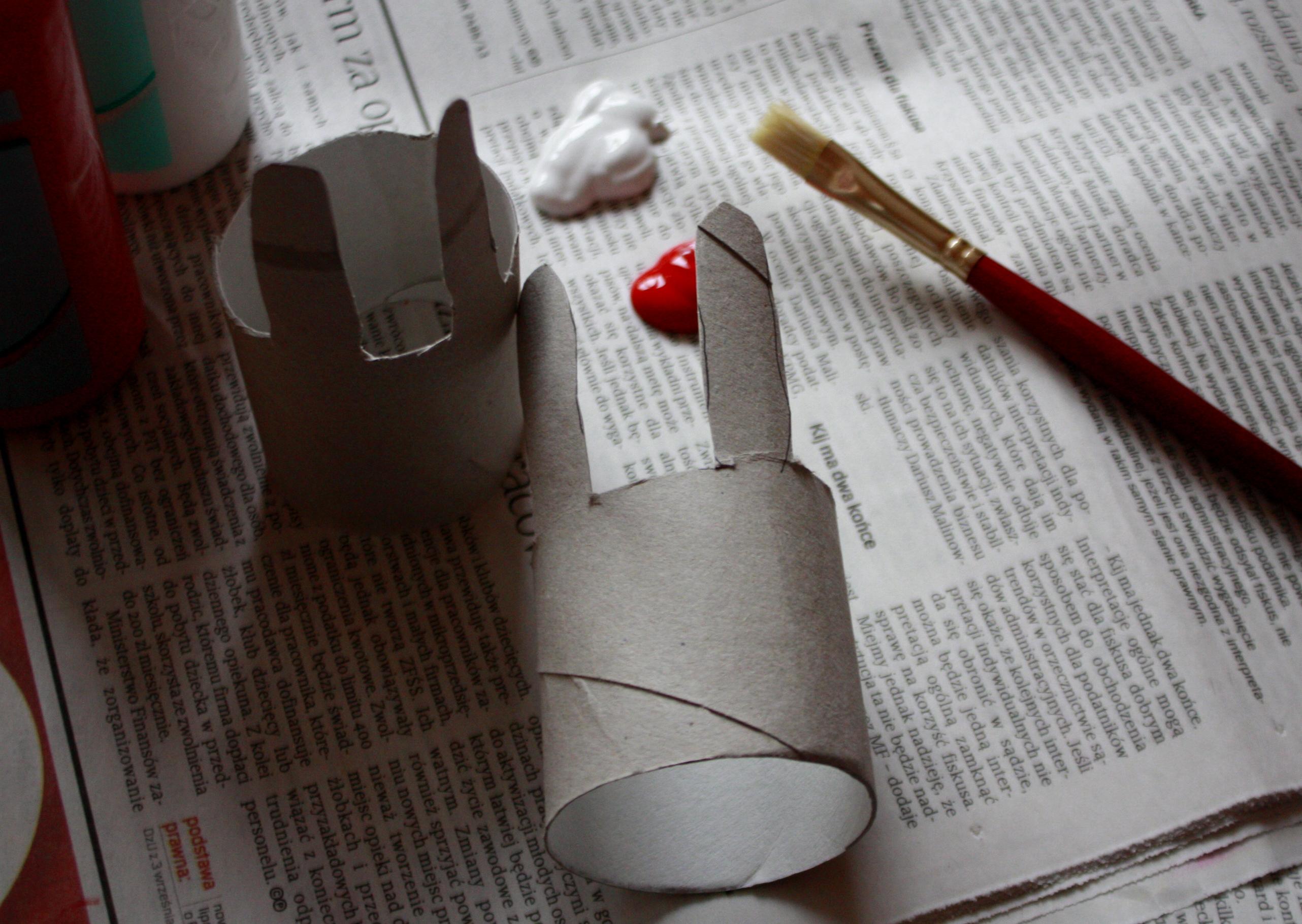 rolka po papierze toaletowym DIY