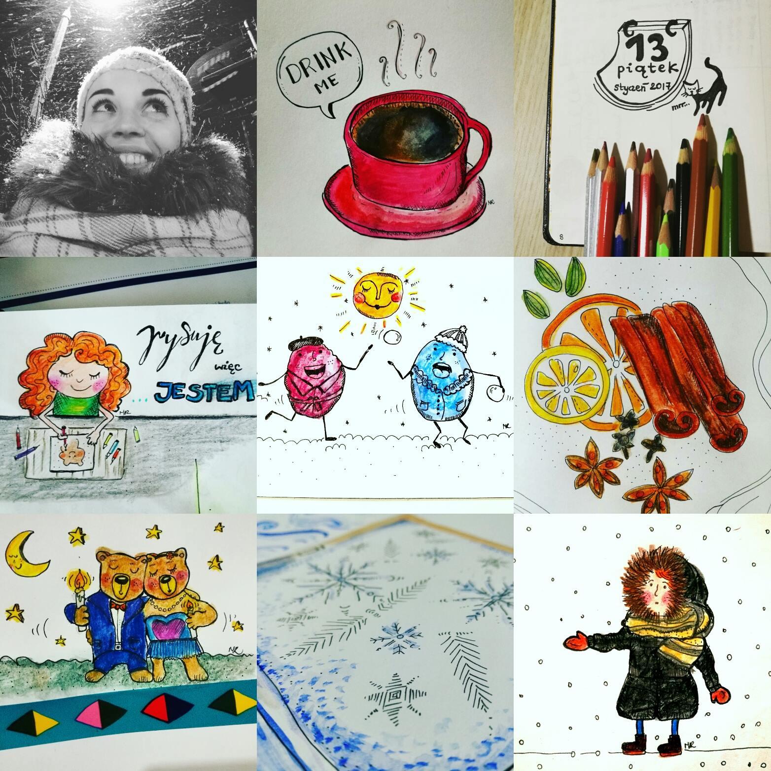 wyzwanie na instagramie kreatywne bujo
