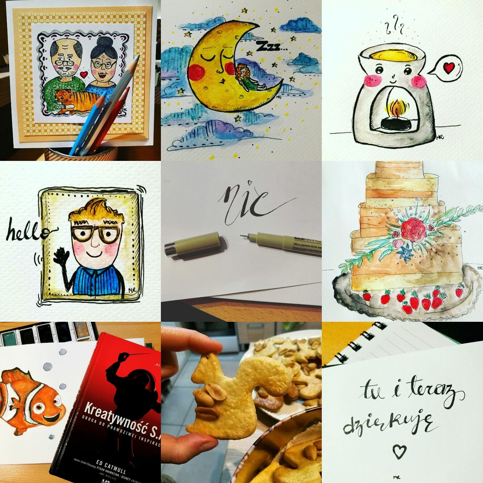 kreatywne wyzwanie na instagramie kreatywnebujo