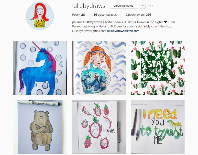 lullabydraws instagram