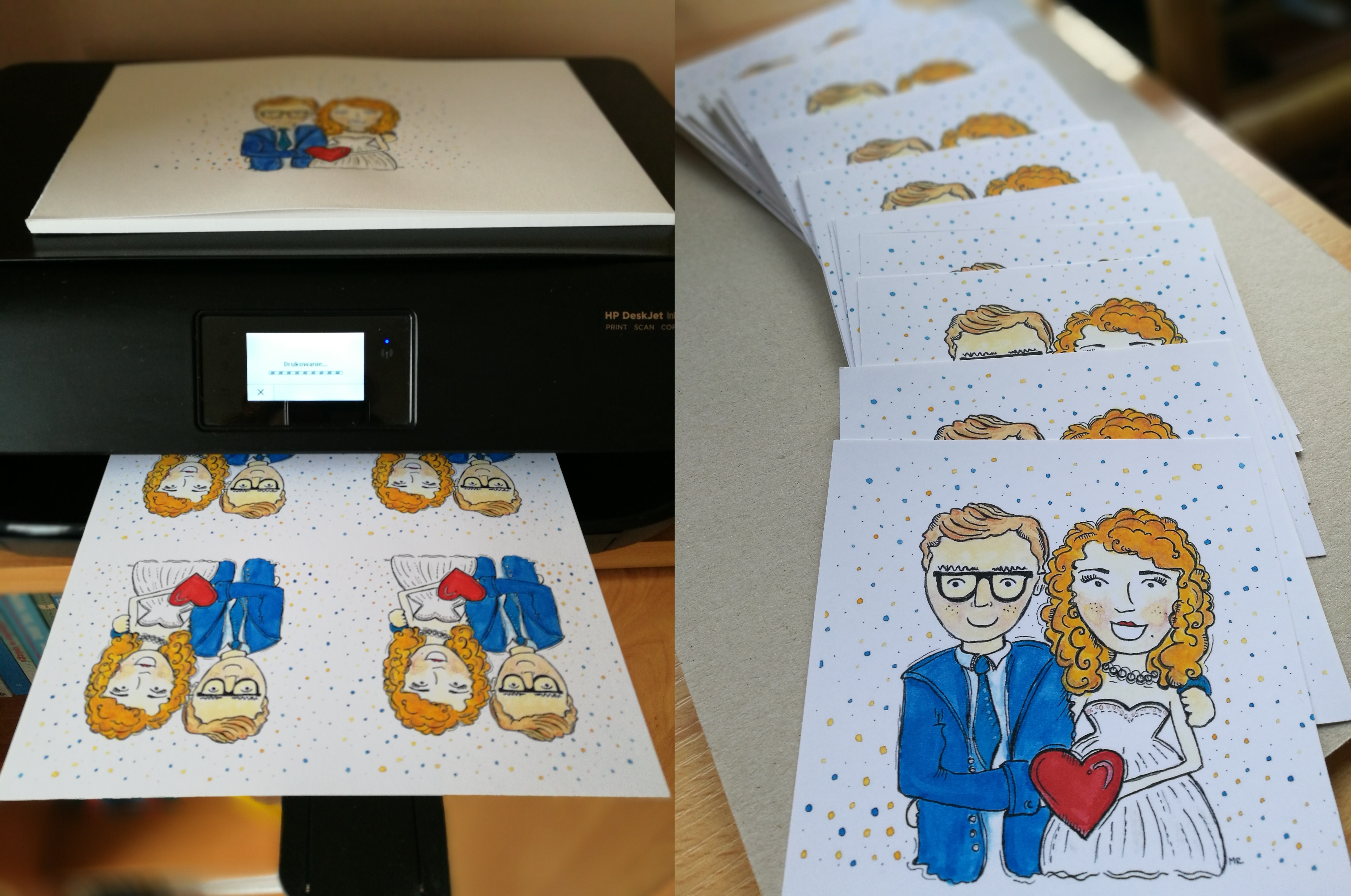 Zaproszenia ślubne DIY