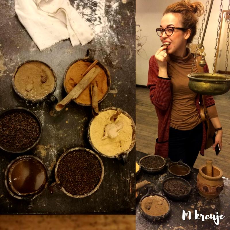 Przyprawy jakie należy użyć do wypieku świątecznych pierników, relacja z Żywego Muzeum Piernika w Toruniu