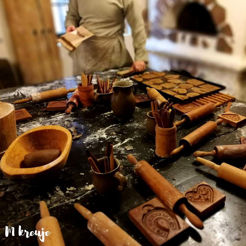 Żywe Muzeum Piernika w Toruniu, wypiek pierników
