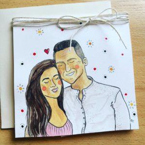 kartka urodzinowa od niej dla niego