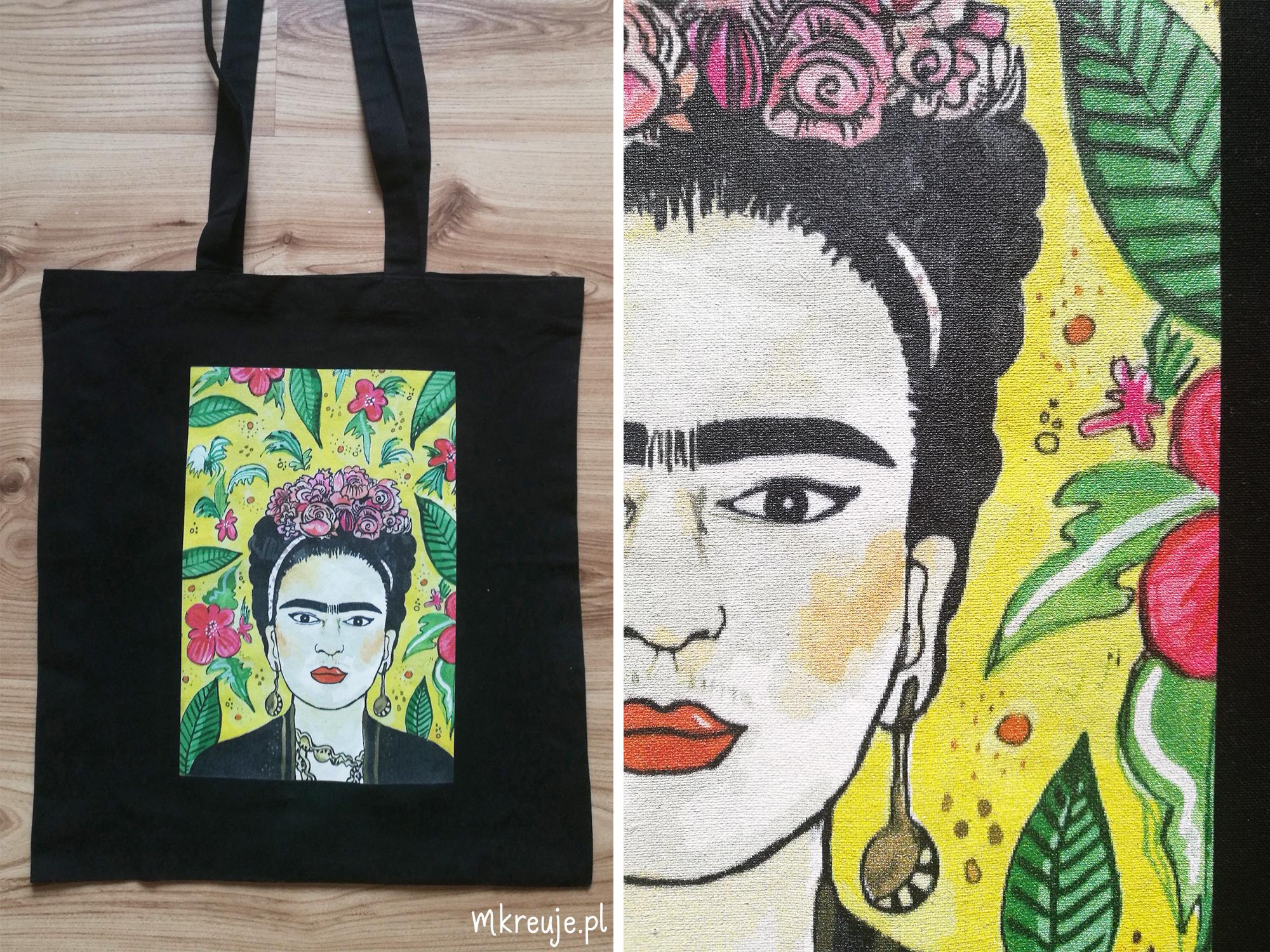 Torba z ilustracją Fridy Kahlo