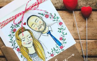 kartkowy sezon w pełni, kartki ręcznie robione z okazji ślubu