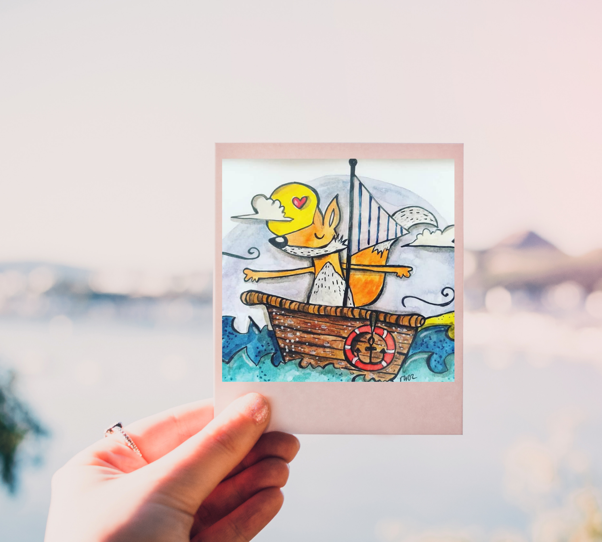 przygody liska, ilustracja dziecięca