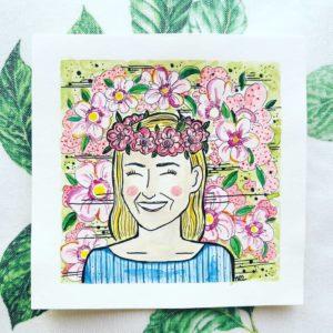kartki urodzinowe inspirowane wizerunkiem jubilata